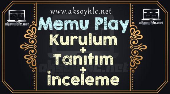 Memu Play kurulum+tanıtım+inceleme